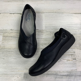 Primary Photo - BRAND: CLARKS STYLE: SHOES FLATS COLOR: BLACK SIZE: 8.5 OTHER INFO: SLIP ON SKU: 258-25877-16247