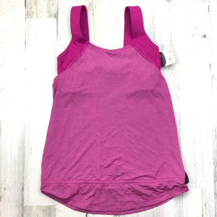 Primary Photo - BRAND: LULULEMON STYLE: ATHLETIC TANK TOP COLOR: PINK SIZE: 8 SKU: 258-25898-13008