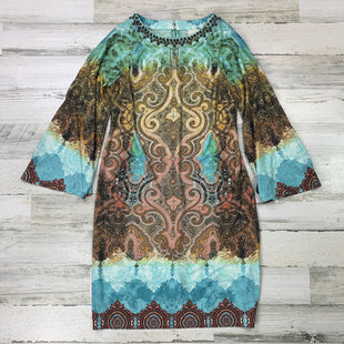 Primary Photo - BRAND: CHICOS STYLE: DRESS SHORT LONG SLEEVE COLOR: GREEN SIZE: S SKU: 258-258113-6997