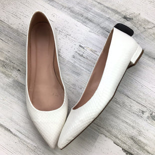 Primary Photo - BRAND: J CREW STYLE: SHOES FLATS COLOR: WHITE SIZE: 11 OTHER INFO: *BS*SKU: 258-25898-10345