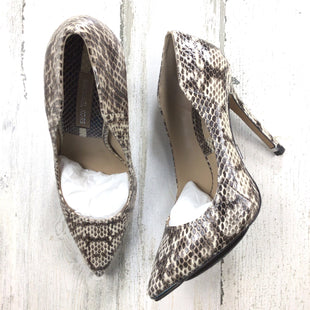 Primary Photo - BRAND: MICHAEL BY MICHAEL KORS STYLE: SHOES HIGH HEEL COLOR: SNAKESKIN PRINT SIZE: 6 OTHER INFO: GENUINE SNAKE SKU: 258-25871-13347