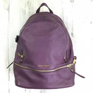 Primary Photo - BRAND: MICHAEL BY MICHAEL KORS STYLE: HANDBAG DESIGNER COLOR: PURPLE SIZE: LARGE OTHER INFO: RHEA BACKPACK STYLE SKU: 258-25873-35908