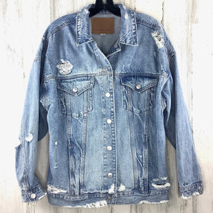 Primary Photo - BRAND: AMERICAN EAGLE STYLE: JACKET OUTDOOR COLOR: DENIM SIZE: M SKU: 258-258111-12256