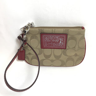 Primary Photo - BRAND: COACH STYLE: WRISTLET COLOR: RED SKU: 258-258113-4511