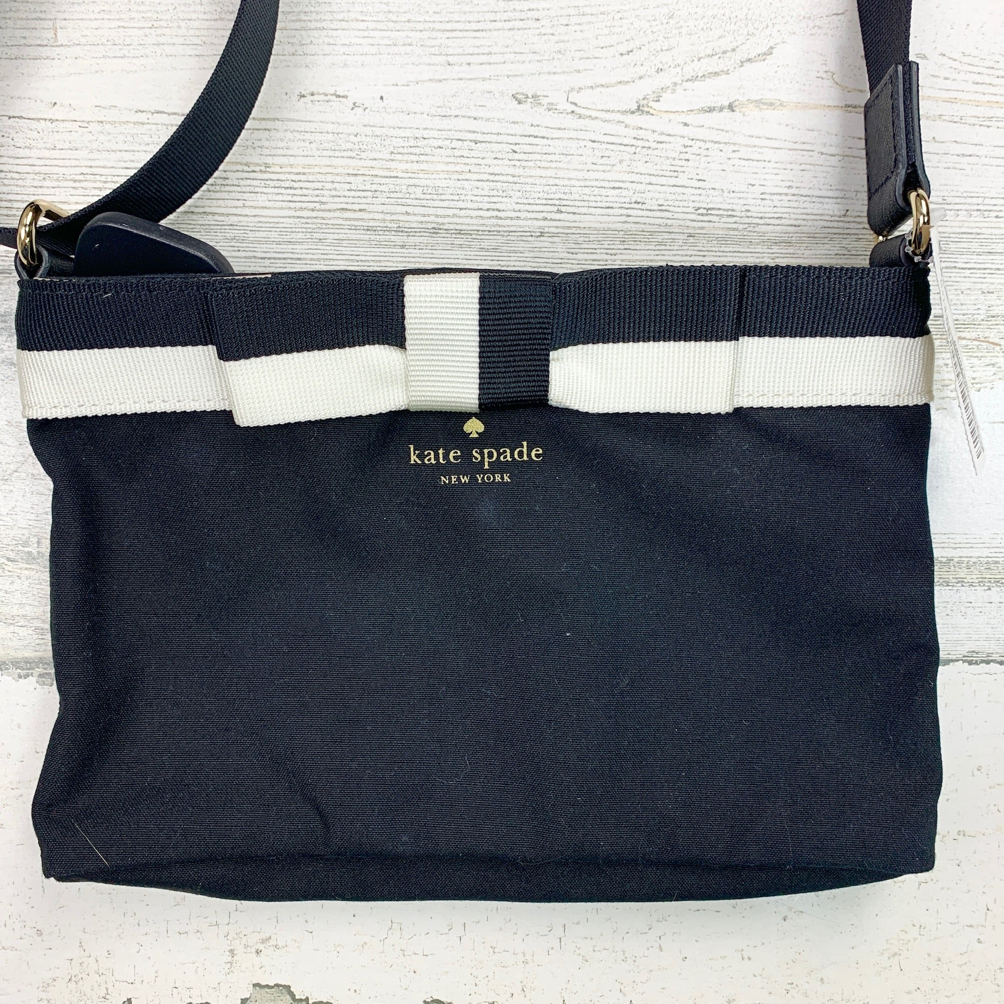 Photo #1 - BRAND: KATE SPADE <BR>STYLE: HANDBAG DESIGNER <BR>COLOR: BLACK <BR>SIZE: SMALL <BR>SKU: 258-258113-9916