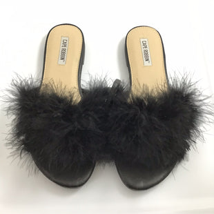 Primary Photo - BRAND: CLOTHES MENTOR STYLE: SHOES FLATS COLOR: BLACK SIZE: 8.5 OTHER INFO: CAPE ROBBIN *BS*SKU: 258-25885-32331.
