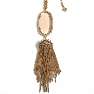 Primary Photo - BRAND: KENDRA SCOTT JEWLERY STYLE: NECKLACE COLOR: ROSE OTHER INFO: ROSE GOLD RAYNE AS ISSKU: 258-25877-21041