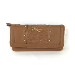 Primary Photo - BRAND: JESSICA SIMPSON STYLE: WALLET COLOR: TAN SIZE: MEDIUM OTHER INFO: GOLD GEMS SKU: 258-258122-660
