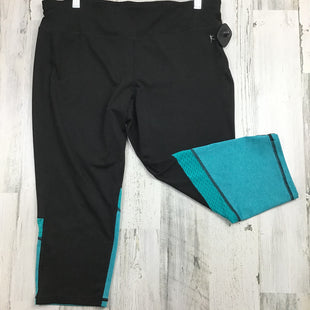 Primary Photo - BRAND: DANSKIN NOW STYLE: ATHLETIC CAPRIS COLOR: BLACK SIZE: L OTHER INFO: BLUE BOTTOM SKU: 258-258100-3468