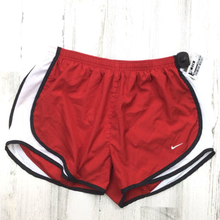 Primary Photo - BRAND: NIKE APPAREL STYLE: ATHLETIC SHORTS COLOR: RED SIZE: M SKU: 258-25873-39120