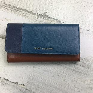 Primary Photo - BRAND: MARC BY MARC JACOBS STYLE: WALLET COLOR: TEAL SIZE: MEDIUM OTHER INFO: SAFINANO COLOR BLOCK SKU: 258-25871-11394