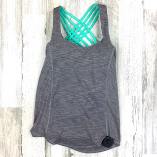 Primary Photo - BRAND: LULULEMON STYLE: ATHLETIC TANK TOP COLOR: GREY SIZE: 2 OTHER INFO: OL W/ BRA SKU: 258-25871-13462