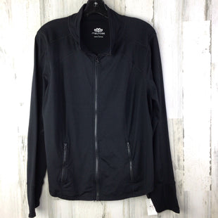 Primary Photo - BRAND: MAURICES STYLE: ATHLETIC JACKET COLOR: BLACK SIZE: 1X SKU: 258-25871-12638