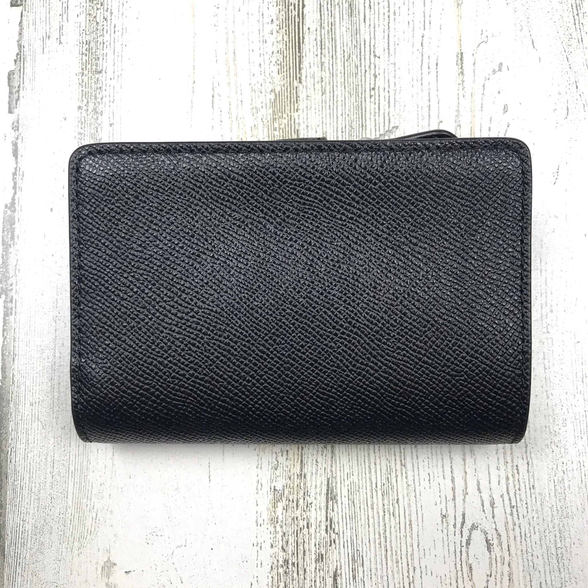 Photo #1 - BRAND: COACH <BR>STYLE: WALLET <BR>COLOR: BLACK <BR>SIZE: SMALL <BR>OTHER INFO: OUTSIDE SNAP ON BUTTON <BR>SKU: 258-258111-10350