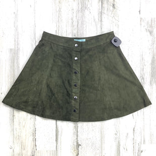 Primary Photo - BRAND: SHE + SKY STYLE: SKIRT COLOR: OLIVE SIZE: M OTHER INFO: NWT SKU: 258-258111-11319