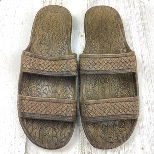 Primary Photo - BRAND:  PALISTYLE: SANDALS FLAT COLOR: BROWN SIZE: 12 OTHER INFO: PALI HAWAII SKU: 258-25885-32550