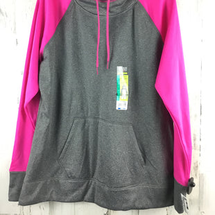 Primary Photo - BRAND: DANSKIN NOW STYLE: ATHLETIC JACKET COLOR: GREY SIZE: XL OTHER INFO: HEATHERED PINK SKU: 258-25873-36591