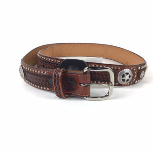 Primary Photo - BRAND:    CLOTHES MENTOR STYLE: BELT COLOR: BROWN SIZE: S OTHER INFO: RANGER BELT COMPANY , GENUINE LEATHER, SZ 28SKU: 258-258121-463