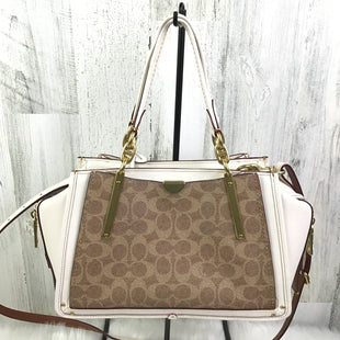 Primary Photo - BRAND: COACH STYLE: HANDBAG DESIGNER COLOR: CREAM SIZE: MEDIUM OTHER INFO: DREAMER SATCHEL HERITAGE COLLECTION SKU: 258-258113-6970