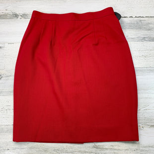 Primary Photo - BRAND: GEORGIOU STYLE: SKIRT COLOR: RED SIZE: 6 SKU: 258-258111-7083