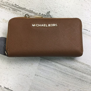 Primary Photo - BRAND: MICHAEL KORS COLLECTION STYLE: WALLET COLOR: BROWN SIZE: MEDIUM OTHER INFO: AS IS SKU: 258-25898-10954