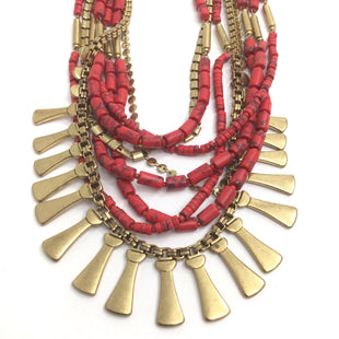Primary Photo - BRAND: STELLA AND DOT STYLE: NECKLACE COLOR: RED OTHER INFO: SC STATEMENT SKU: 258-258111-11522