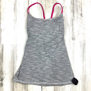 Primary Photo - BRAND: LULULEMON STYLE: ATHLETIC TANK TOP COLOR: GREY SIZE: S OTHER INFO: HEATHERED SKU: 258-25873-36979