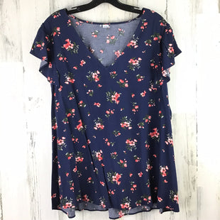 Primary Photo - BRAND: OLD NAVY STYLE: TOP SHORT SLEEVE COLOR: NAVY SIZE: 1X SKU: 258-258113-8376