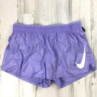 Primary Photo - BRAND: NIKE APPAREL STYLE: ATHLETIC SHORTS COLOR: LAVENDER SIZE: L SKU: 258-258111-12603BS