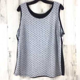 Primary Photo - BRAND: COLDWATER CREEK STYLE: TOP SLEEVELESS COLOR: GREY SIZE: 1X SKU: 258-258113-8418