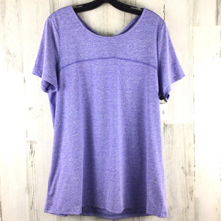 Primary Photo - BRAND: KIMMERY STYLE: ATHLETIC TOP SHORT SLEEVE COLOR: PURPLE SIZE: XL OTHER INFO: KIMMERY SKU: 258-258111-12084