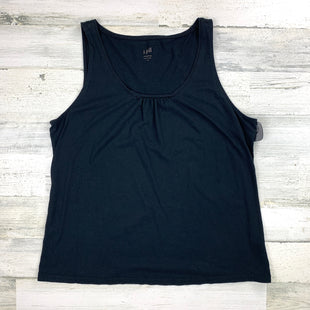 Primary Photo - BRAND: J JILL STYLE: TOP SLEEVELESS BASIC COLOR: BLACK SIZE: XL SKU: 258-25885-31467