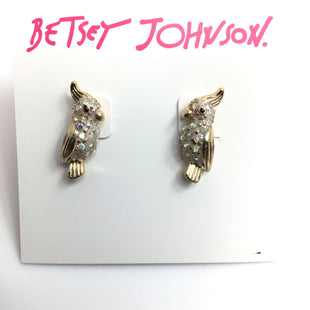 Primary Photo - BRAND: BETSEY JOHNSON STYLE: EARRINGS COLOR: WHITE OTHER INFO: 8 SKU: 258-258113-11289