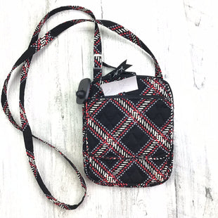 Primary Photo - BRAND: VERA BRADLEY CLASSIC STYLE: HANDBAG COLOR: BLACK RED SIZE: SMALL OTHER INFO: CROSSBODY DIAMOND PATTERN SKU: 258-258111-8271