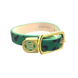 Primary Photo - BRAND: RUSTIC CUFF STYLE: BRACELET COLOR: GREEN OTHER INFO: LEOPARD DETAIL SKU: 258-25877-18919