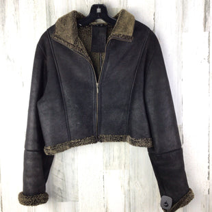 Primary Photo - BRAND:  FIT IGU ESOSTYLE: JACKET LEATHER COLOR: BROWN SIZE: S OTHER INFO: FIT IGU ESO SKU: 258-258113-10856