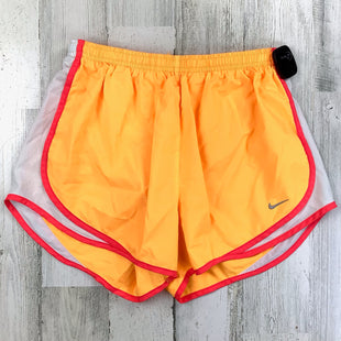 Primary Photo - BRAND: NIKE APPAREL STYLE: ATHLETIC SHORTS COLOR: ORANGE SIZE: M SKU: 258-258113-12007