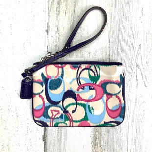 Primary Photo - BRAND: COACH STYLE: WRISTLET COLOR: NAVY SKU: 258-25885-32853
