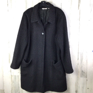 Primary Photo - BRAND: DENIM AND COMPANY STYLE: COAT LONG COLOR: BLACK SIZE: 1X SKU: 258-258113-10511