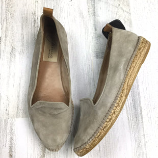 Primary Photo - BRAND:    CLOTHES MENTOR STYLE: SHOES FLATS COLOR: TAUPE SIZE: 9.5 OTHER INFO: GAIMO SOLID SUEDE *BS*SKU: 258-258111-8392