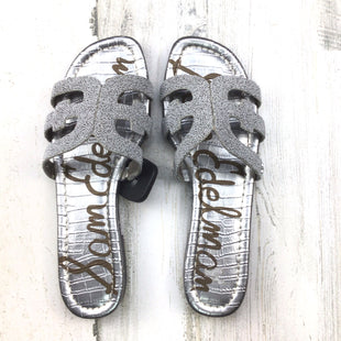 Primary Photo - BRAND: SAM EDELMAN STYLE: SANDALS LOW COLOR: SILVER SIZE: 9 SKU: 258-25877-21615