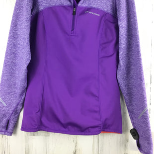 Primary Photo - BRAND: BROOKS STYLE: ATHLETIC TOP COLOR: PURPLE SIZE: S OTHER INFO: PULLOVER SKU: 258-258111-9898