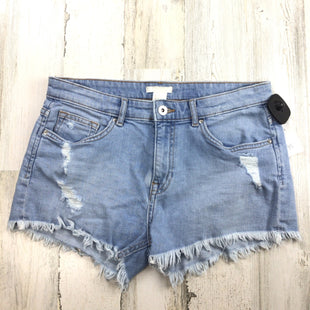 Primary Photo - BRAND: H&M STYLE: SHORTS COLOR: DENIM BLUE SIZE: 6 SKU: 258-258113-11705