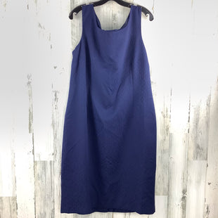 Primary Photo - BRAND: LE SUIT STYLE: DRESS SHORT SLEEVELESS COLOR: NAVY SIZE: 1X OTHER INFO: NWT SKU: 258-258111-3685
