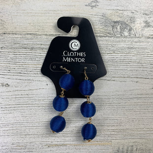 Primary Photo - BRAND:  CME STYLE: EARRINGS COLOR: BLUE OTHER INFO: 1 - THREE SPHERES SKU: 258-25885-31995