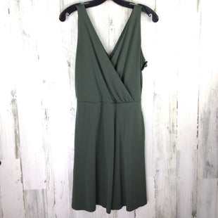 Primary Photo - BRAND: LOFT STYLE: DRESS SHORT SLEEVELESS COLOR: OLIVE SIZE: XS SKU: 258-258111-4376