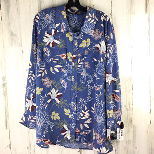 Primary Photo - BRAND:    EAST ADELINESTYLE: TOP LONG SLEEVE COLOR: BLUE SIZE: 3X OTHER INFO: EAST ADELINE SKU: 258-258111-10732