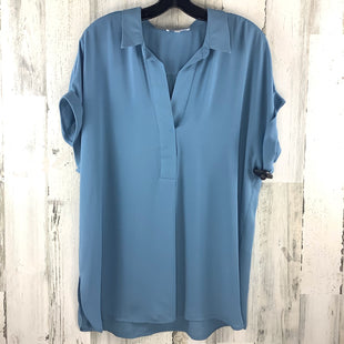 Primary Photo - BRAND: DR2 STYLE: TOP SHORT SLEEVE COLOR: BLUE SIZE: L SKU: 258-258111-9612