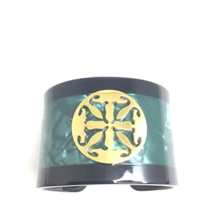 Primary Photo - BRAND: RUSTIC CUFF STYLE: BRACELET COLOR: EMERALD OTHER INFO: MARBLE CUFF SKU: 258-25877-19000