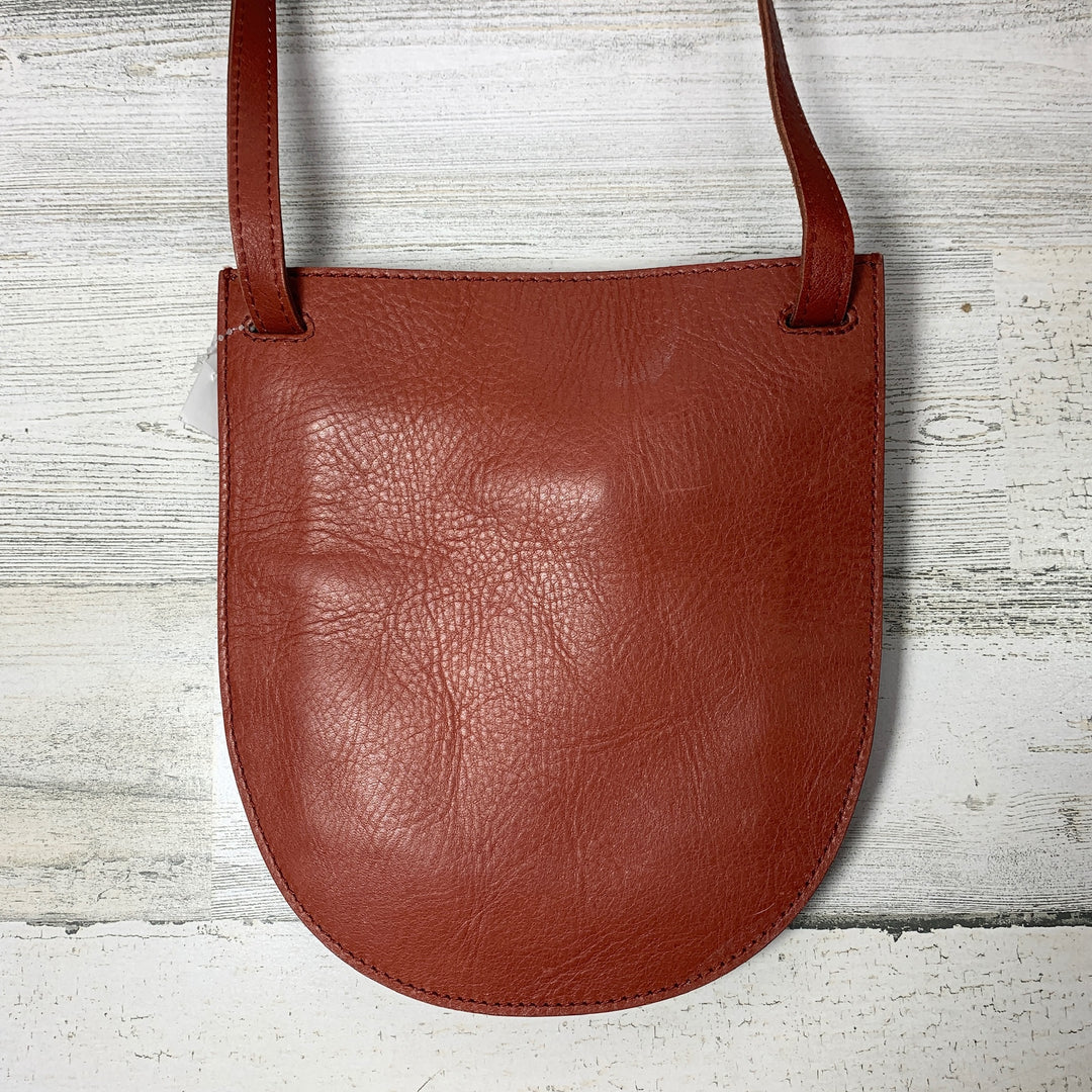 Photo #2 - BRAND: MADEWELL <BR>STYLE: HANDBAG <BR>COLOR: RED <BR>SIZE: SMALL <BR>OTHER INFO: CROSSBODY LEATHER <BR>SKU: 258-25898-10176